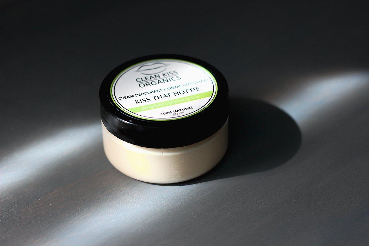 Clean Kiss Organics Natural Deodorant Review